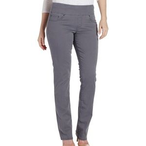 JAG Pull On High Rise Straight Leg Jeans Size 4